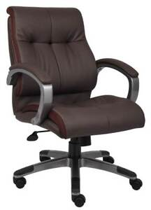 Mid Back Executive Chair In Brown id 3186670