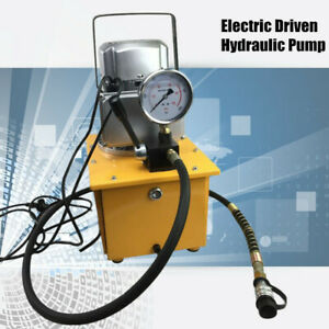 Electric Driven Hydraulic Pump Single Acting 10000psi 60hz Quick Connector Usa