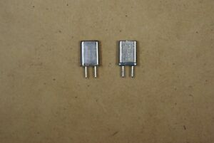 Marti R 10 Receiver Crystals Lot Of 3