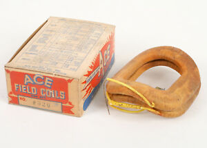Vintage Ace Field Coils 320 Buick 1953 56 Oldsmobile 1953 60 Nos In Box