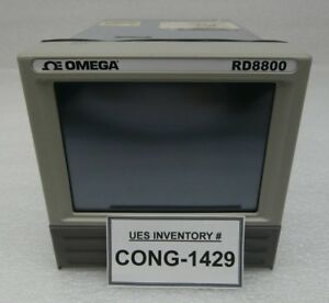 Omega Rd8804cd Paperless Recorder And Data Acquisition System Rd8800 Used