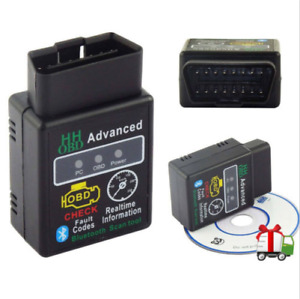 Car Auto Scanner Bluetooth Diagnostic Elm327 Obdii For Iphone Android Obd2
