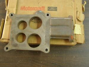 Nos Oem Ford 1976 Lincoln Town Car 460ci Carburetor Spacer Plate 4v Thunderbird