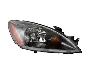 For 2004 2007 Mitsubishi Lancer Right Passenger Headlamp Headlight Blk 04 07 Rh