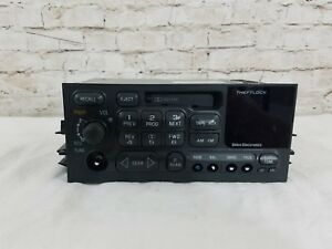 1995 2002 Gmc Chevy Truck Van Gm Delco Radio Am Fm Cassette Player Part 09354155