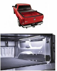 Truxedo Truxport Soft Roll up Tonneau Cover Access 39 Led Light For Ram 1500