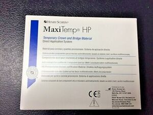 Dental Temporary Crown Bridge Maxitemp Equivalent To Luxatemp A1 all Shades