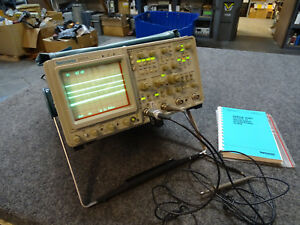 Tektronix 2465a 350 Mhz Oscilloscope 4 Channel Opt 10 11 22 2 Probes Gpib Ba