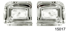 1956 Chevy Parklight Housings Backing Plates