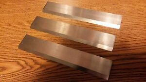 High Speed Steel Planer Knives For 13 Jet grizzly Set Of 3