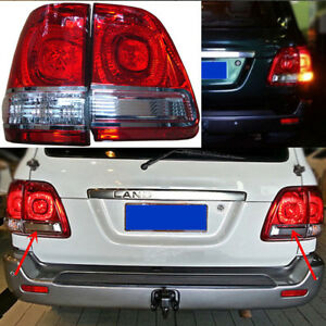 Led Taillight Assembly 1set Refit Lx470 Style For Land Cruiser Lc100 1998 2007