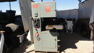 Powermatic 20 Variable Speed Bandsaw Cut Metal Wood Plastic Anything Delta