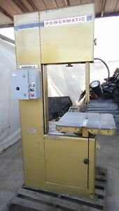 Powermatic Bandsaw 20 High Cut Model 81 Rip Wood Foam Silica Carbide Blade