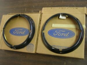 Nos Oem Ford 1971 1977 Bronco Grille Headlight Door Ring 1972 1973 1974 1975 76