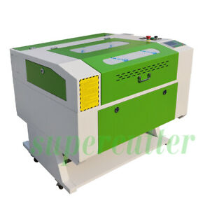 60w Co2 Laser Engraver Cutter Machine 700mm X 500mm Ruida System Chiller Red dot