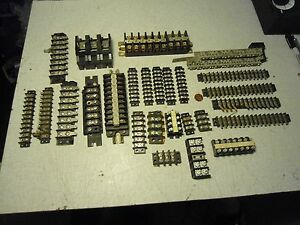Wire Connector Barrier Terminal Strip Block Panel Lot Of 26