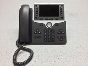 Cisco Cp 8861 Poe Office Business Class Voip Poe Phone Missing Faceplate Reset