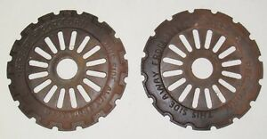 Ihc Ih International 1853a Popcorn Cast Iron Planter Plates Mccormick Deering