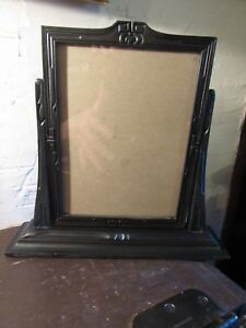 Antique Art Deco Table Top Swing Frame Wooden