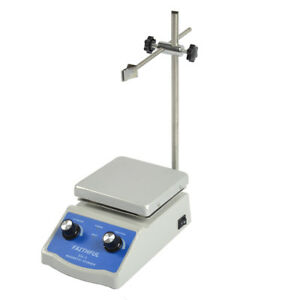 Brand New Sh 2 Hot Plate Magnetic Stirrer Dual Control stir Bar Lab Equipment