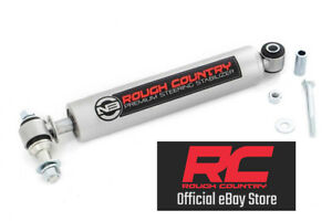 Rough Country Steering Stabilizer 97 06 Jeep Wrangler Tj 4wd