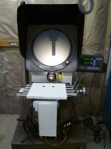 Mitutoyo Optical Comparator Ph350 With Mitutoyo Ka Counter Dro