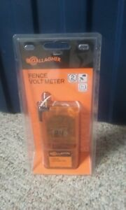 Brand New Gallagher Fence Volt Meter Dvm3 Free Shipping