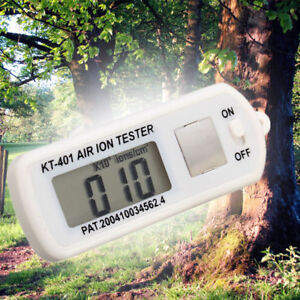 Kt 401 Air Ion Tester Counter ve Negative Ions With Peak Maximum Hold Fast Ship