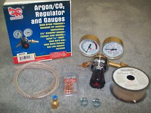 New Br Tools Universal Mig Welder Welding Gas Conversion Regulator Kit Clarke