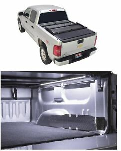 Truxedo Deuce Vinyl Tonneau Black Cover Access 60 Light For Silverado 1500