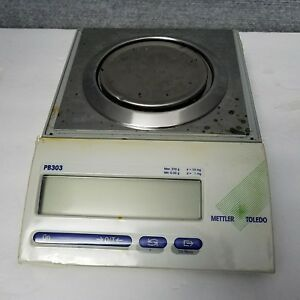 Mettler Toledo Pb303 Digital Balance Scale Monobloc Weighing Technology