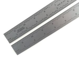 Blem Cosmetic Second Pec 12 Flexible Satin 5r 10 100 32 64ths Machinist Ruler