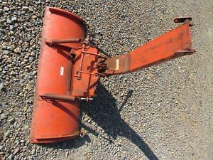 Power King Economy 48 Inch Tractor Snow Dirt Blade Plow 1200 Series