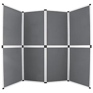 6x8 Folding 8 Panels Trade Show Display Booth Screen Backdrop Display On Sale
