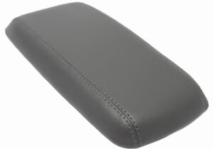 Fits 05 09 Chevrolet Equinox Gray Vinyl Leather Center Console Lid Armrest Cover