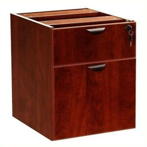 Scranton Co Lateral Wood Hanging File Cabinet In Mahogany