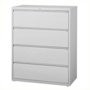 Scranton Co 4 Drawer Lateral File Cabinet In Gray