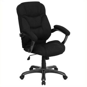 Scranton Co High Back Upholstered Office Chair In Black