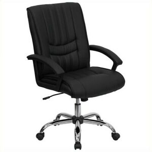 Scranton Co Mid Back Manager s Office Chair In Black