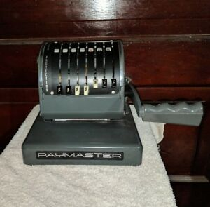 Vintage Paymaster Series X 900 Check Writer Cover Key 7k171136 Excellent