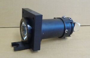Mirror Lens Iris Assembly From Nicolet Microraman Spectra tech Microscope