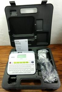 Brother P touch Ptd400vp Versatile Label Maker With Carry Case Adapter