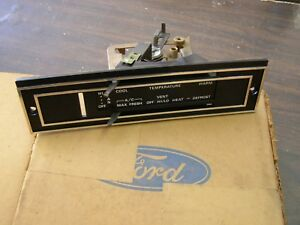 Nos Oem Ford 1975 Pinto Mercury Bobcat Heater Ac Control Assembly