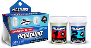 Pegatanke X 1 White Marine Epoxy Glue Super Strong Dries Underwater 44 Cc