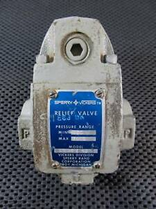 New Vickers Hydraulic Relief Valve E6jdk Ct 06 c 40 Tractor Hydraulic Valve