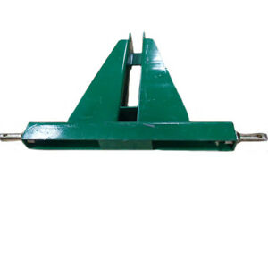 Him30 0065 grn Green 3 Point 2 Receiver Hd Trailer Square Ball Hitch Category 1