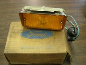 Nos Oem Ford 1972 Torino Park Light Lamp Lens Assembly Ranchero Gt