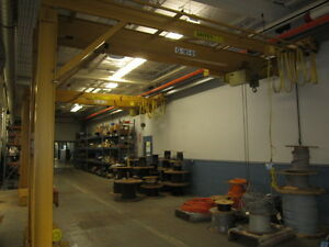 Yale 2 Ton 17 Single Girder leg Self Traveling Overhead Bridge gantry Crane