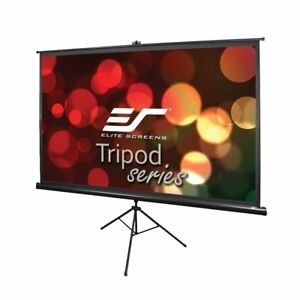 New Elitescreens 100 16 9 Tripod Series Portable Pull Up Home Theater 8k ulthd