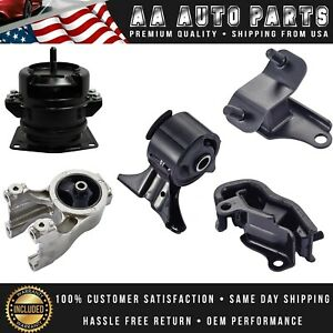 5pcs For 1999 2004 Honda Odyssey Front Rear Right Engine Motor Trans Mounts